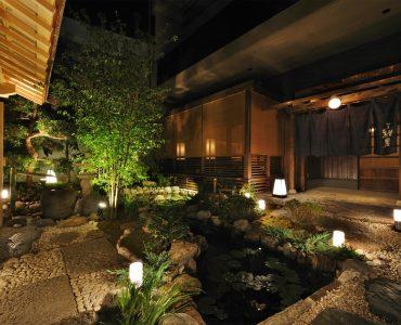 日本庭園×極上和食